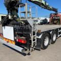 SCANIA P360 8X4 FITTED WITH PALFINGER PK 15001 CRANE AND BRICK GRAB