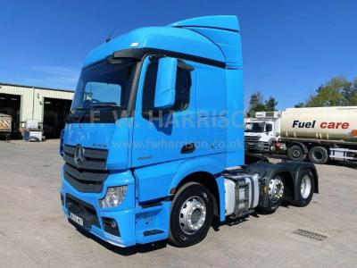 MERCEDES ACTROS 2545 6X2 MID LIFT TRACTOR UNIT