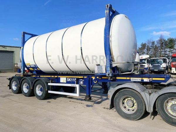 DENNISON 31FT SKELLY TRAILER